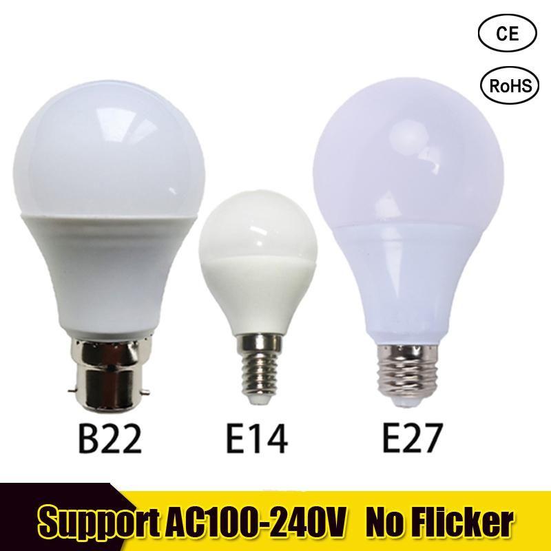 Led Bulb E27 Real Power Led Light B22 3w 5w 7w 9w 12w 15w 220v Led Lamp E14 Lampada Ampoule Bombilla For Home Table Lamp Yesterday S Pr Power Led Bulb Light