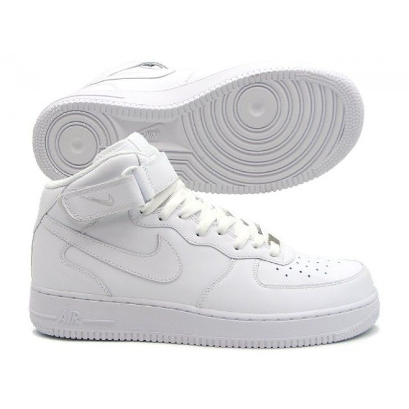 Tênis Nike Air Force 1 Mid '07 Cano Médio Branco