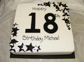 18th Birthday Cake Cakes Pinterest 18th birthday cake