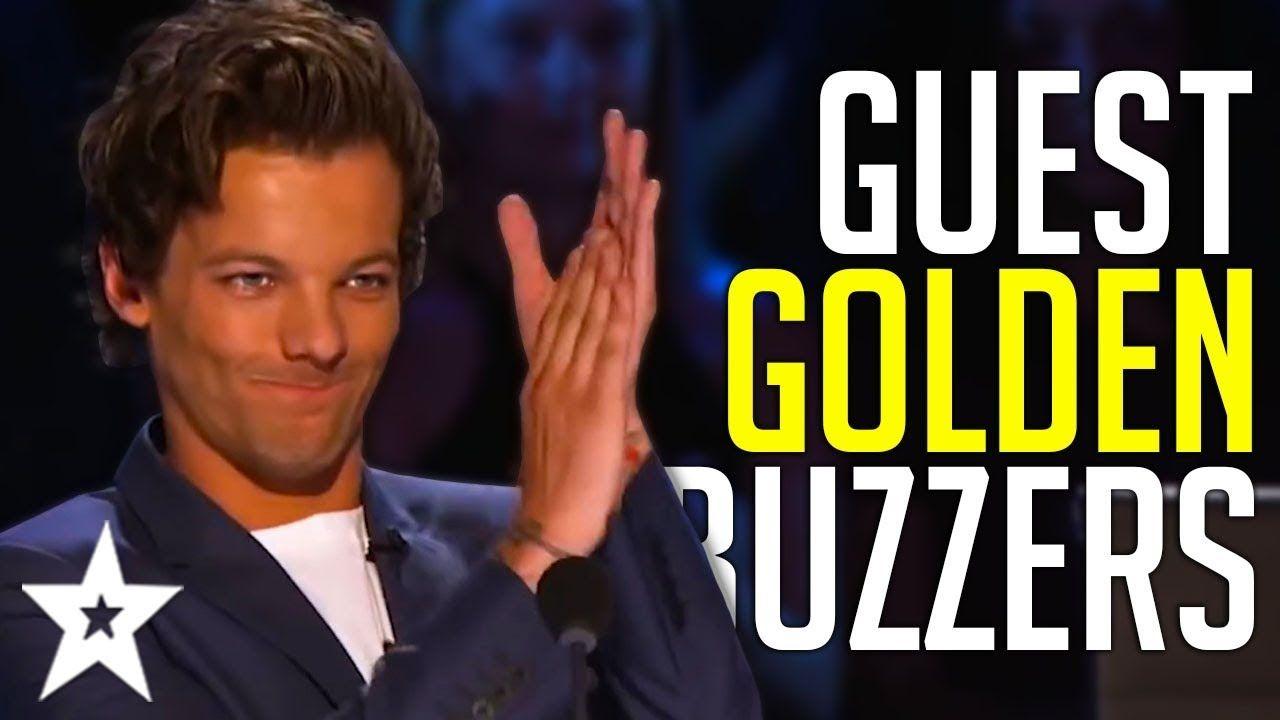 Best Guest Golden Buzzers Ever On America S Got Talent Got Talent Global Youtube America S Got Talent Britain Got Talent Talent Show