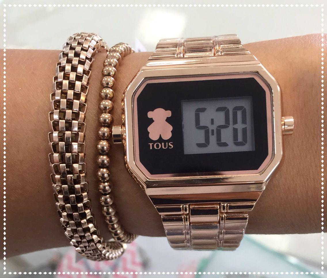 nueva llegada 0df72 437d3 Reloj Tous. | RELOJES | Accesorios, Accesorios de joyería y ...