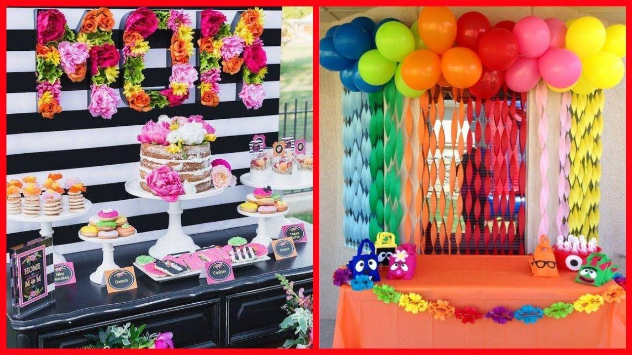 Latest Birthday Decoration Ideas Amazing Youtube Birthday