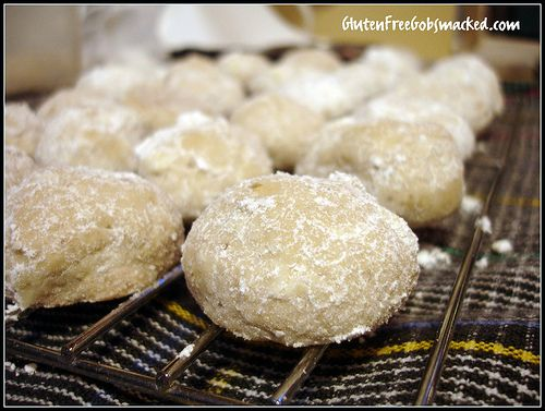 Gluten Free Mexican Wedding Cake Cookies Great With Chopped Walnuts Skip The Toasting