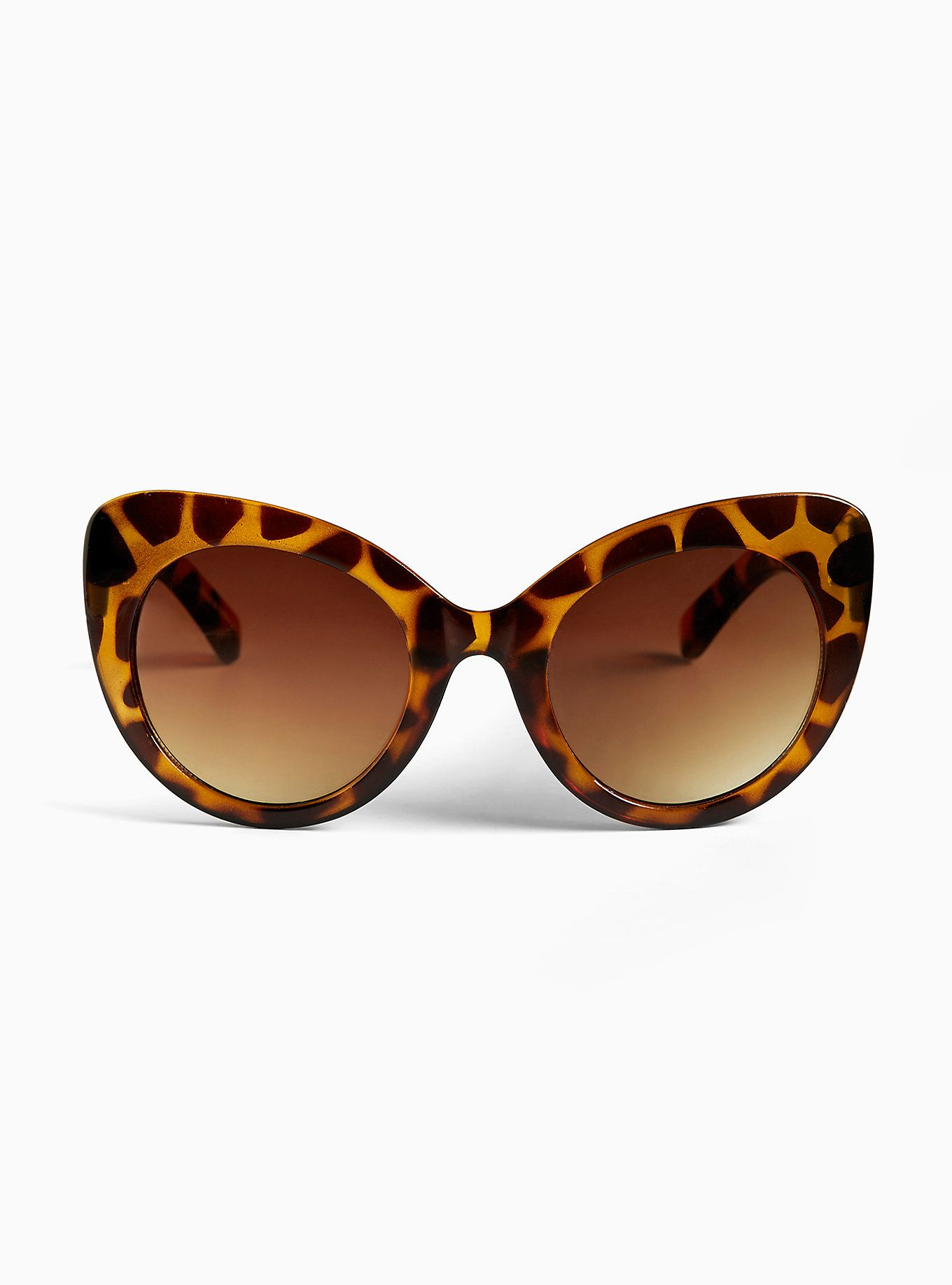 27a0b244dd These tortoise print shades are oversize and over the top in the best way  possible with a tortoise print and cat eye…