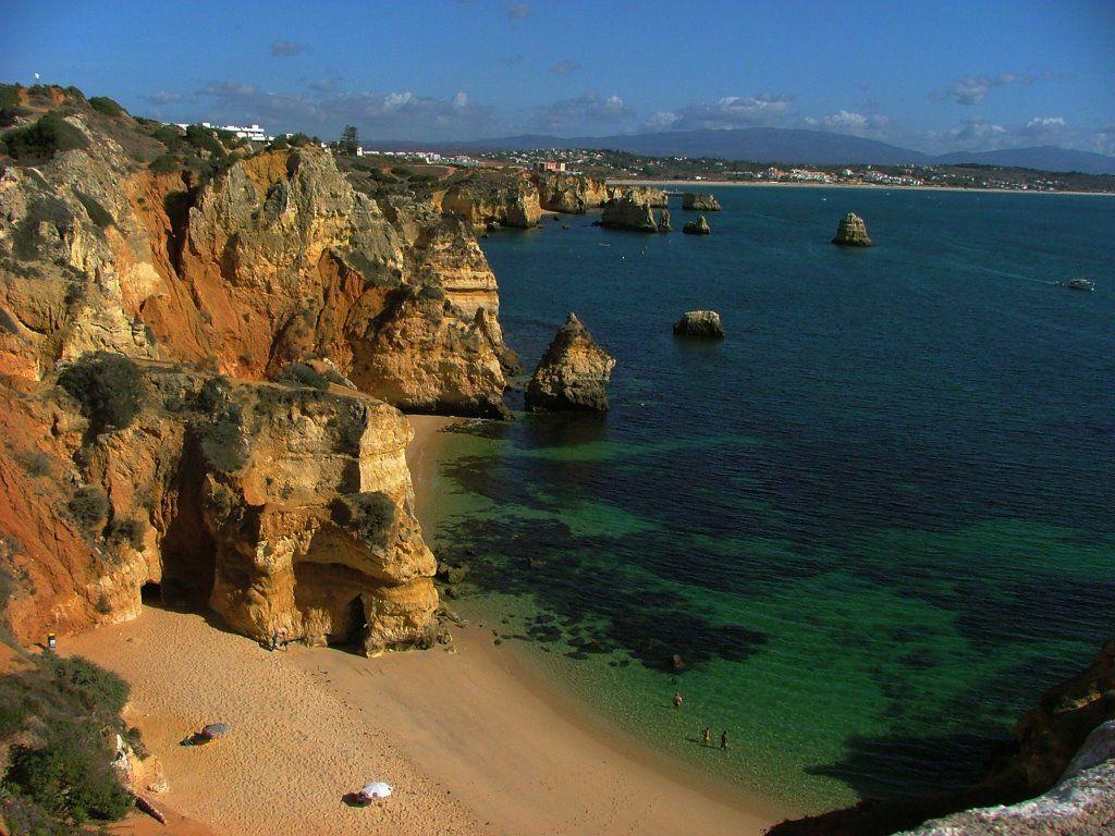 La Paradisiaca Praia Do Camilo En El Algarve Praia Do Camilo Praia Lugares