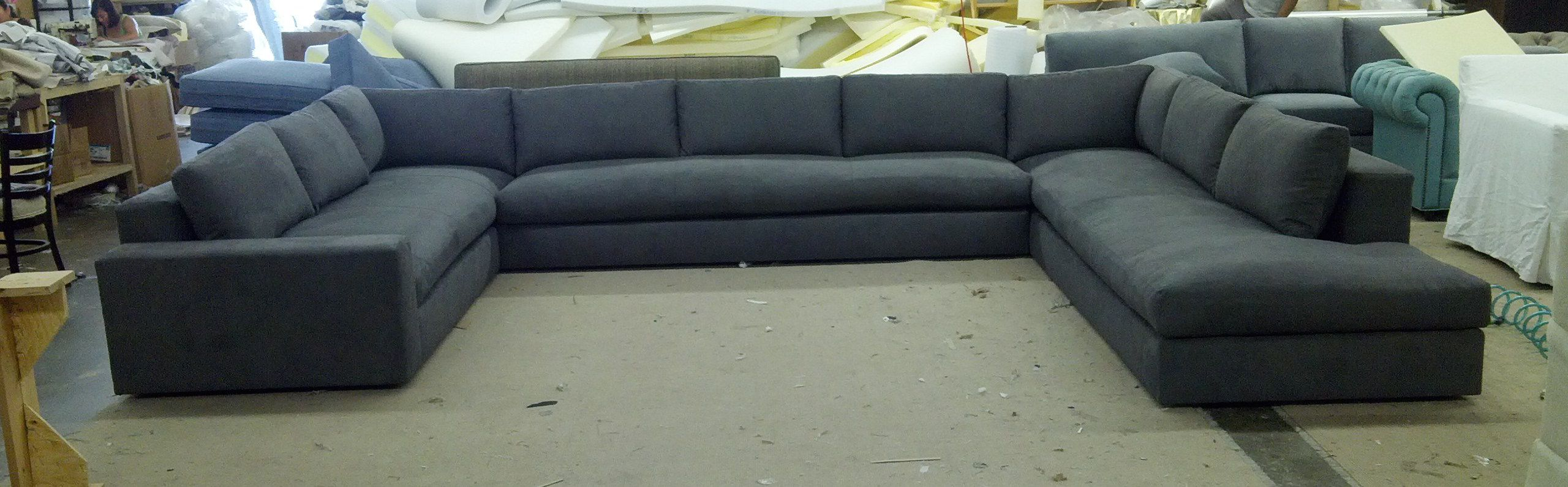 Dante U Shaped Sectional Every Style Can Be Customized In