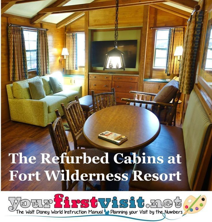 Photo Tour of a Refurbed Cabin at Disney\'s Fort Wilderness Resort ...