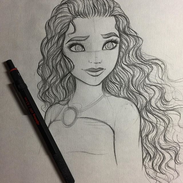 I love this drawing because of her very curly and for Stuff to sketch