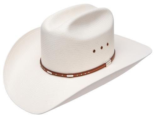 RESISTOL Mens George Strait Hazer 10X Shantung Straw Cowboy Hat