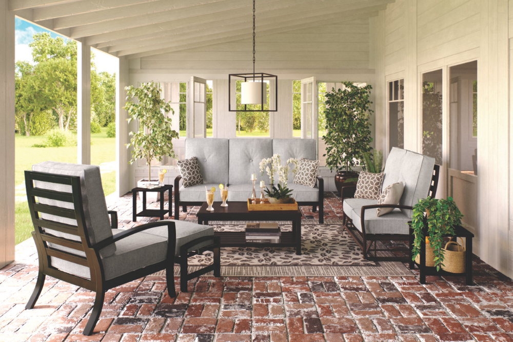 Castle Island Coffee Table Ashley Furniture Homestore Outdoor Living Space Patio Design Outdoor Rooms