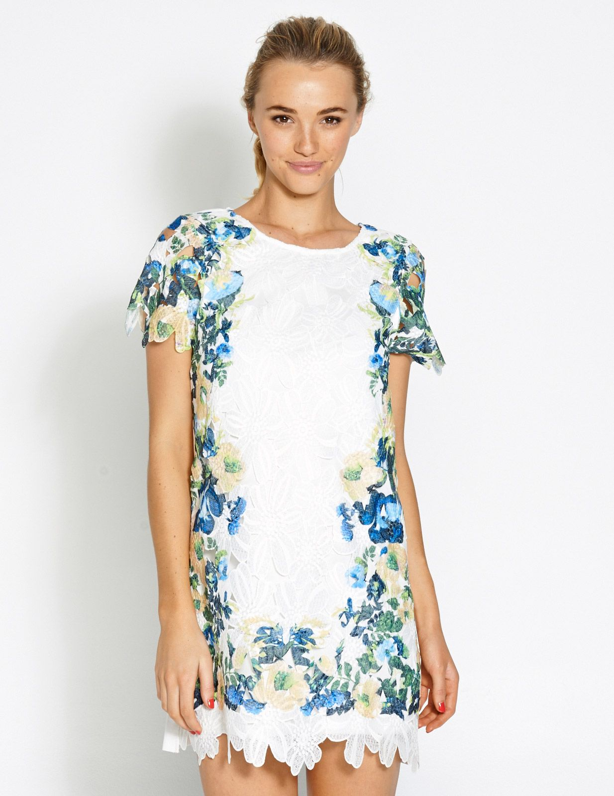 Image for side printed lace dress from dotti wedding pinterest
