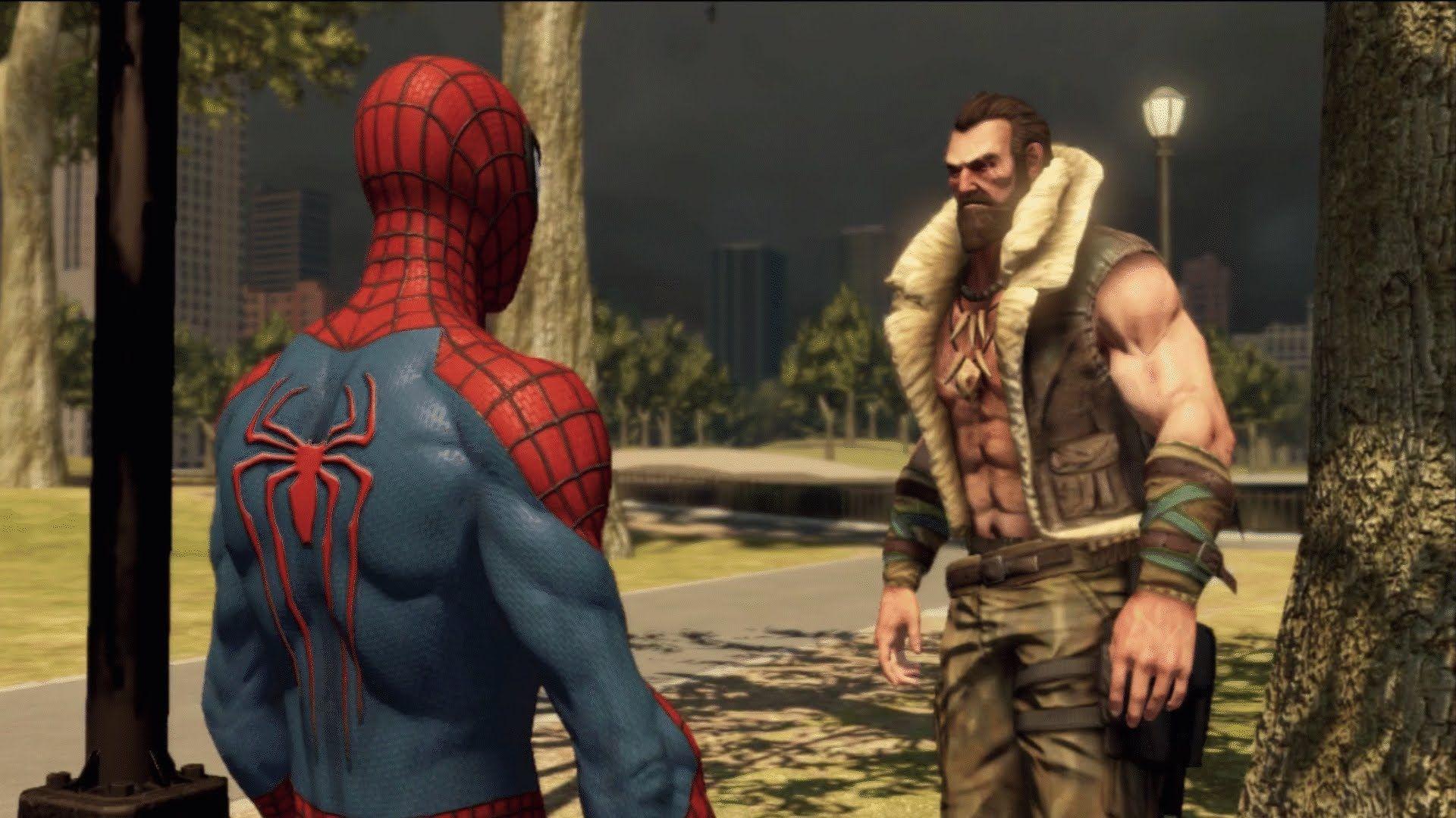 Spiderman VS Kraven the Hunter - The Amazing Spider Man 2