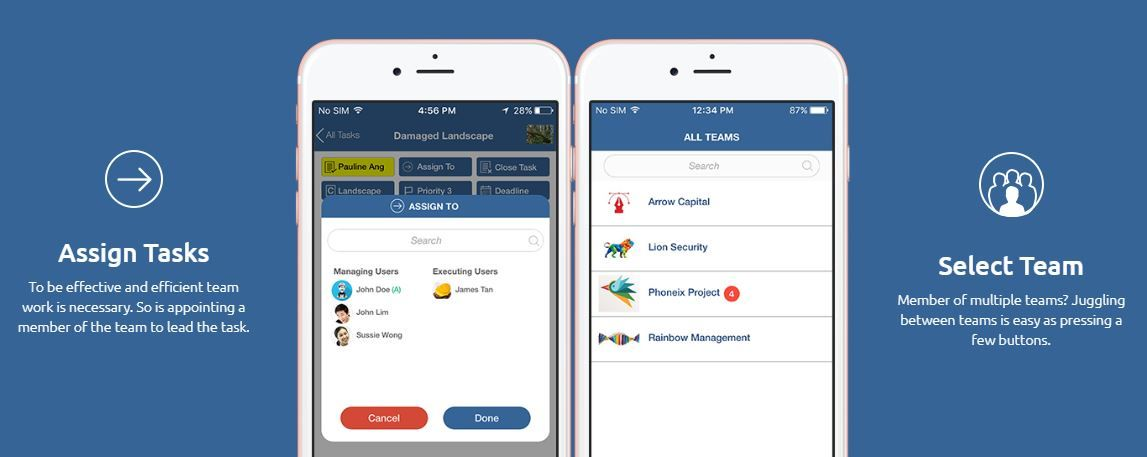 The Walking GM mobile app will make your life easy by