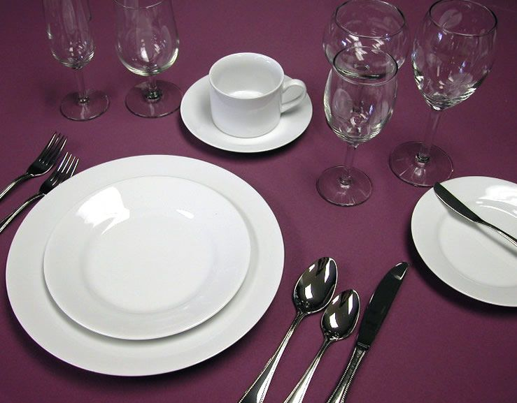 Want To Add Restaurant Quality Dinnerware For Your Event