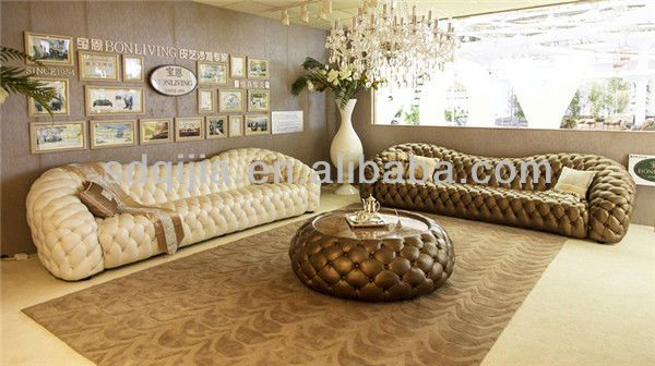 Classic Italian Style Living Room Furniture Set Luxury
