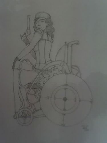 steampunk wheelchair - http://releasingsteam.com/steampunk-wheelchair/