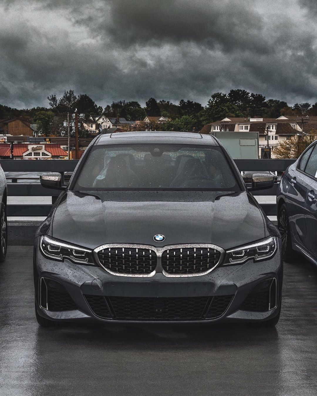 The Stormy Weather Is No Match For The Thunder Packed Inside This Mineral Grey 2020 Bmw M340i Our New 3 Series Selection I Bmw New 3 Series Bmw 3 Series Sedan
