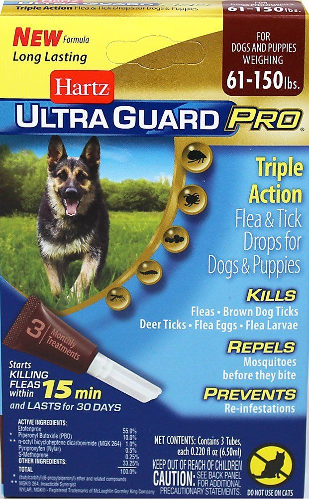 Hartz Ultra Guard Pro Drops For Dogs Over 60 Lbs By Hartz See This Great Image Flea And Tick Control Brown Dog Tick Flea And Tick Dog Treatment