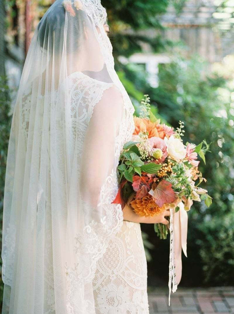 Italian inspired fall wedding inspiration from Seattle via