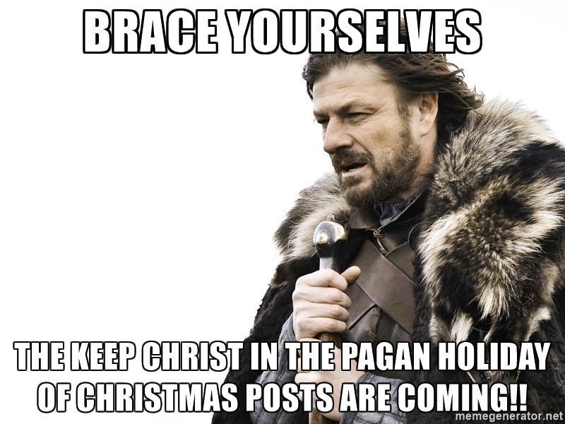 Image Result For Pagan Christmas Meme With Images Library