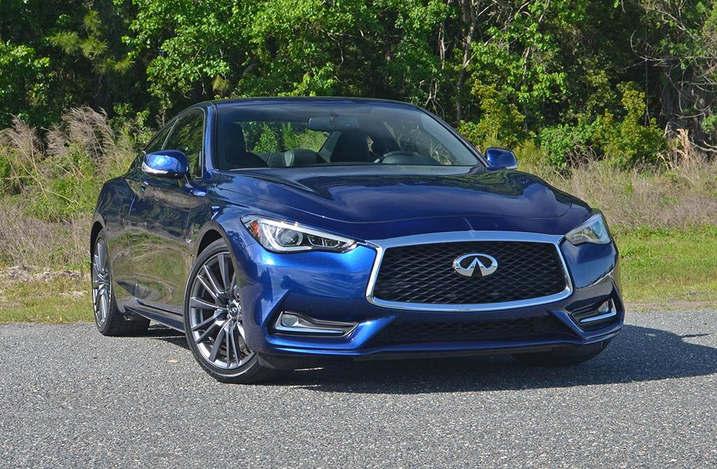 2017 Infiniti Q60s Red Sport 400 The Least Expensive Way To Get 2 Door Luxury With 400 Horsepower Infiniti New Cars Horsepower