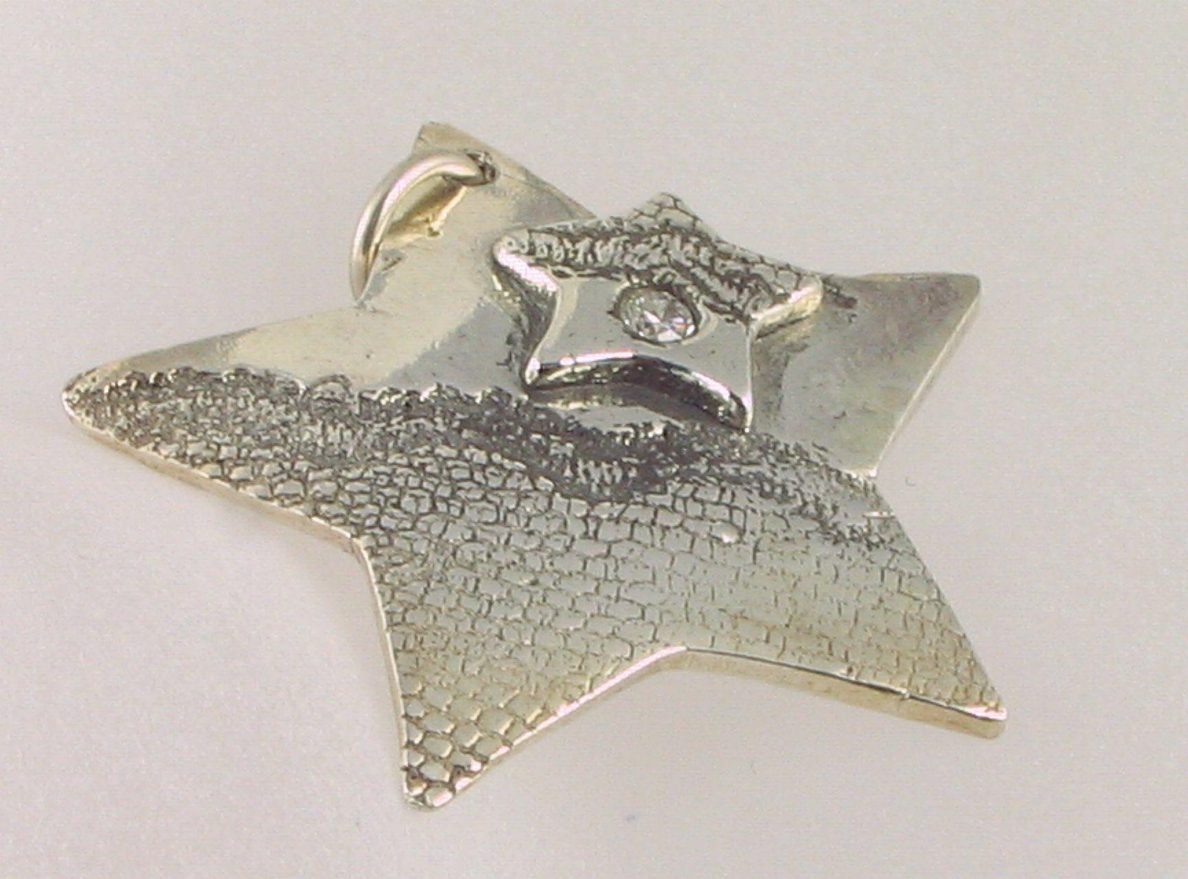 precious metal clay tutorials | Star made of Precious Metal Clay copyright Helen White