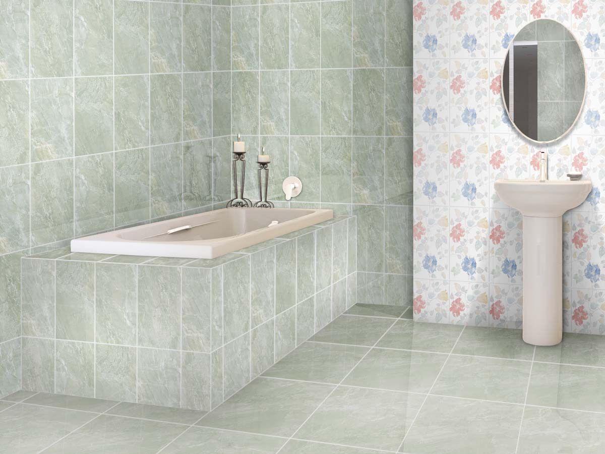 Flores Avo Shiny Ceramic Wall Tile 400 X 250mm Ctm Blue Bathroom Walls Wall Tiles Ceramic Wall Tiles