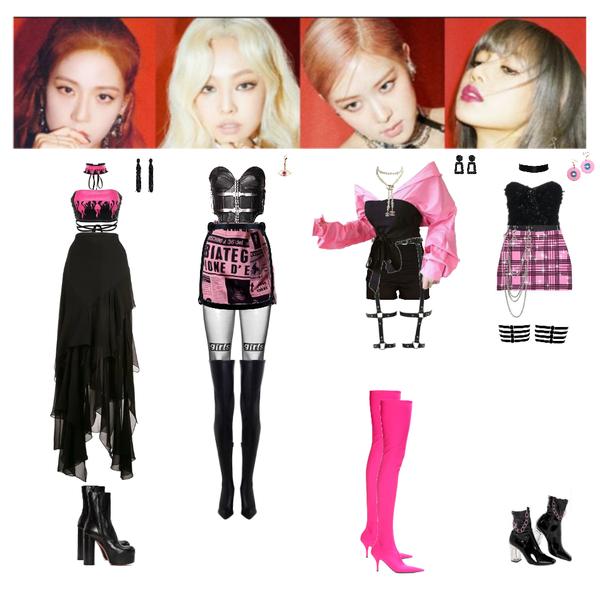 Fashion Set Blackpink Kick It Created Via Kpop Fashion Outfits Fashion Outfits Bts Inspired Outfits