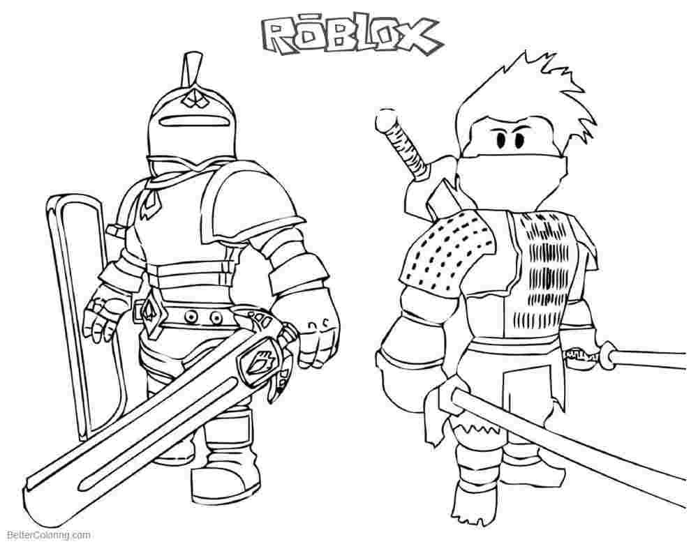 Roblox Coloring Pages For Kids