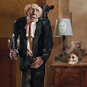 Animated Life Size Bernard Butler - life size halloween decorations