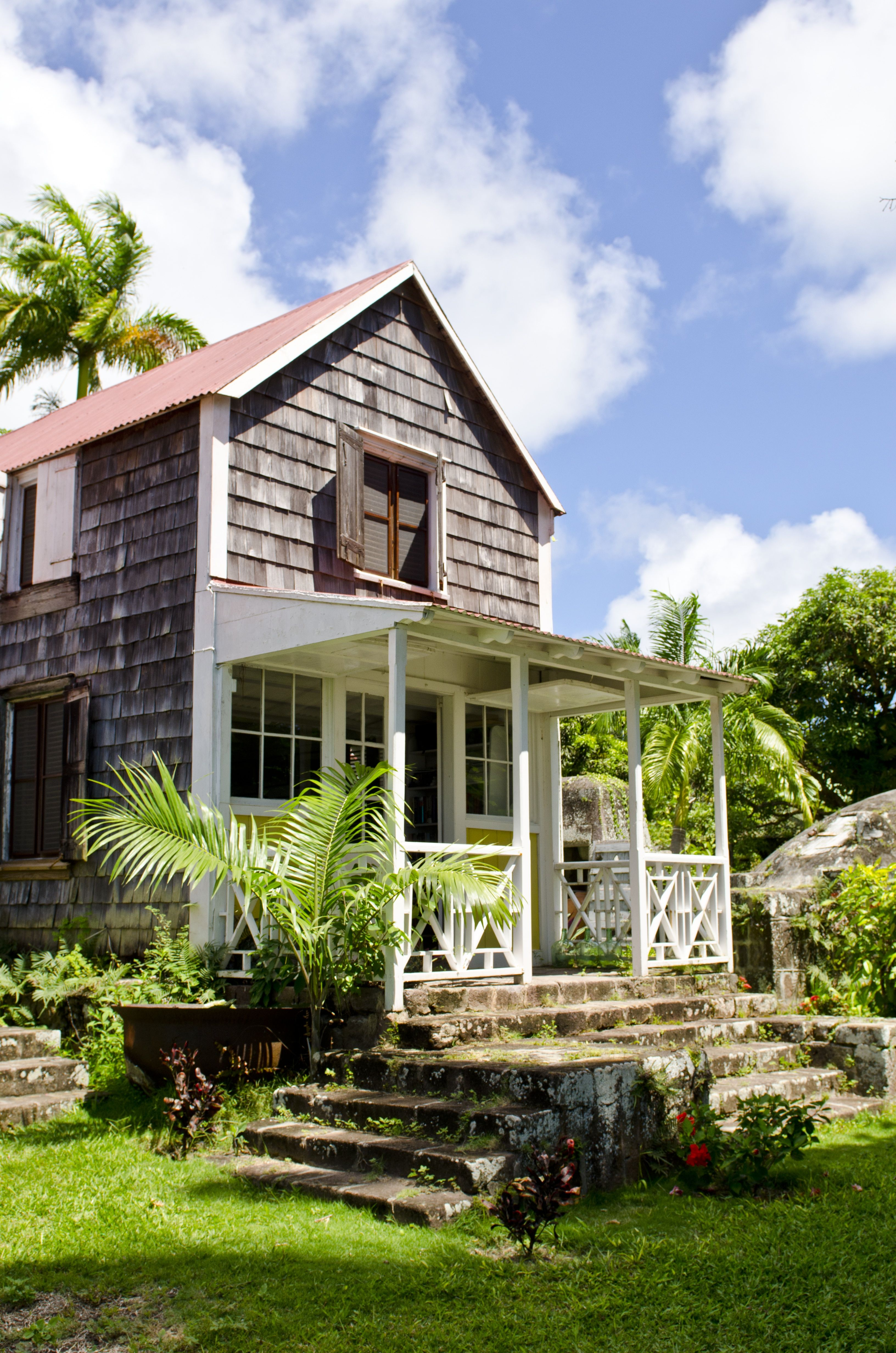 Oldest Wooden House On Nevis At The Hermitage