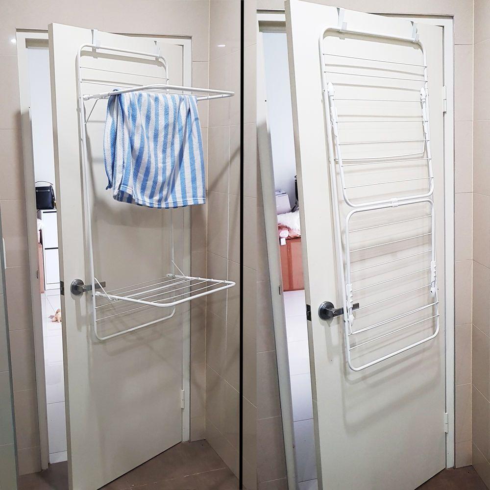 diy drying rack for cabinet doors