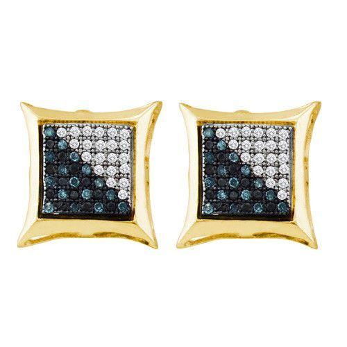 1/6CTW-Diamond MICRO-PAVE EARRING