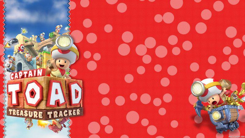 Captain Toad Treasure Tracker Wallpaper Mentalmars Toad Super Mario 3d Wallpaper