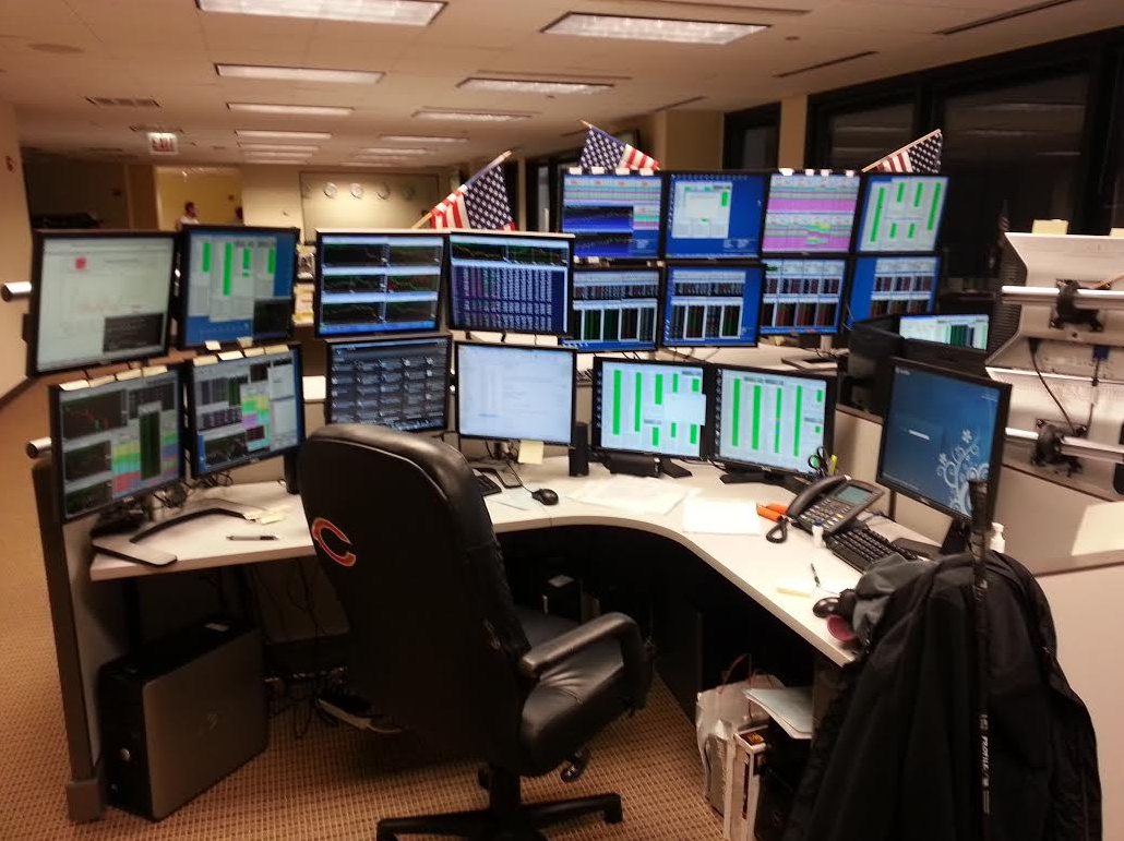 21 Badass Trading Desk Setups From Around The World Trading Desk Desk Desk Setup