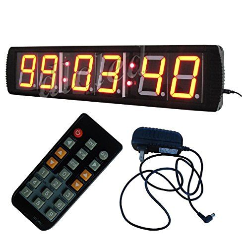 3/'/' 3Digits LED Digital Counter Count Down//Up Timer In Seconds With Remote