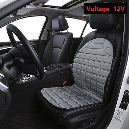 Heated CarampHome Seat Cover 12V Auto Heater Cushion Warmer All Vehicles Car