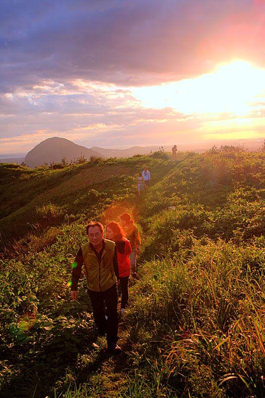 Climbing Mt. Goosan in Jeju Island, Corea