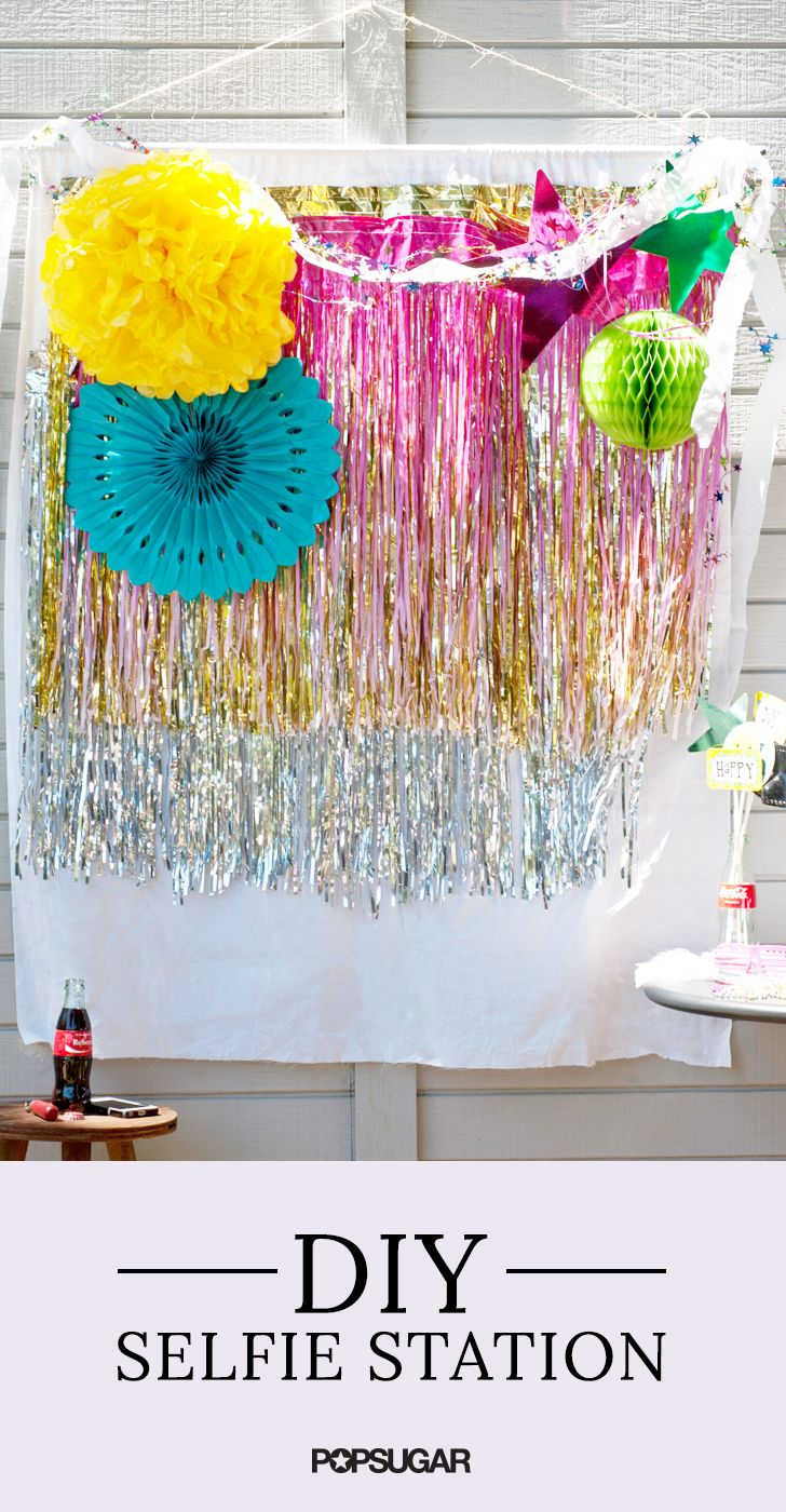Teen Birthday Heres How To DIY A Stunning Selfie Station