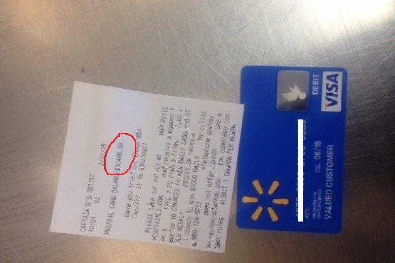 Man returns 10000 walmart debit card to store now its