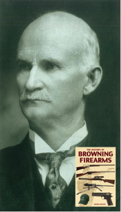 """Happy birthday to John Browning of Browning Firearms. """"John Moses Browning was, by any standard, a most remarkable man. Brought up in a remote town in the Old West, his intellect, drive and inventive genius turned him into a world-renowned engineer who earned universal respect and admiration."""" This portrait of John M. Browning was taken shortly before his death in 1926. More photos and info in The History of Browning Firearms."""