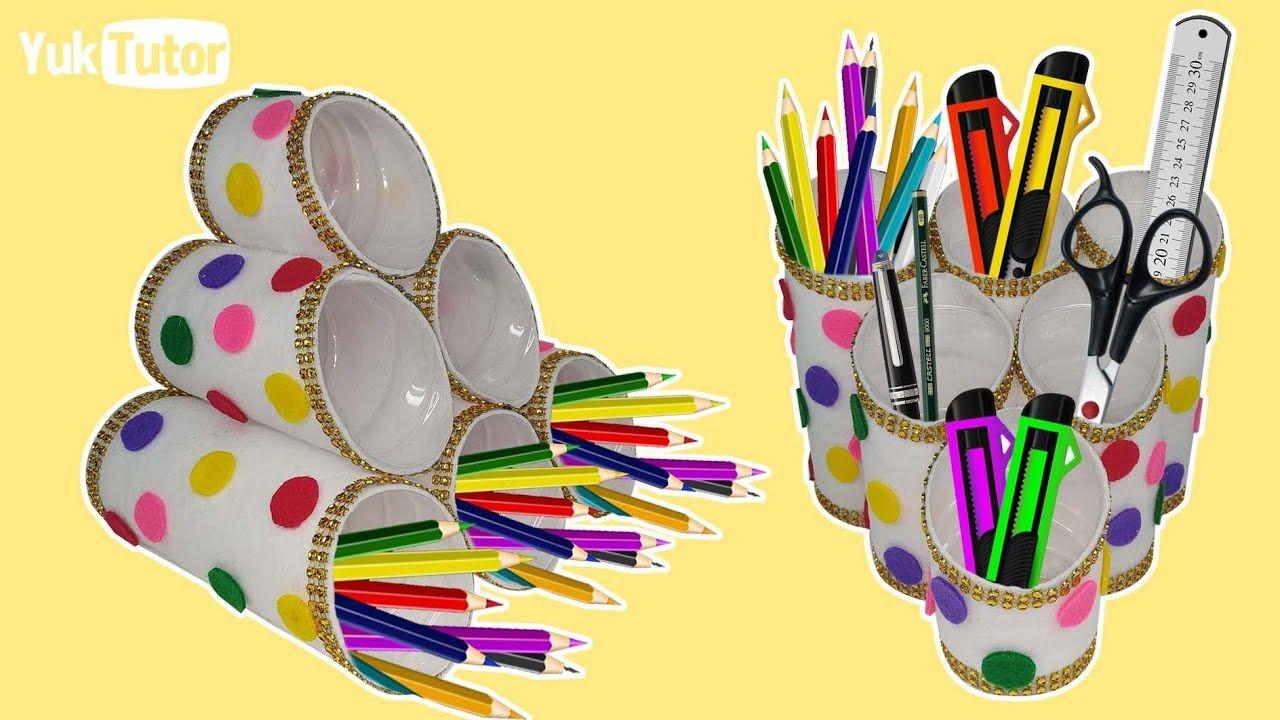 177 Ide Kreatif Tempat Pensil Dari Botol Bekas Ide Kerajinan