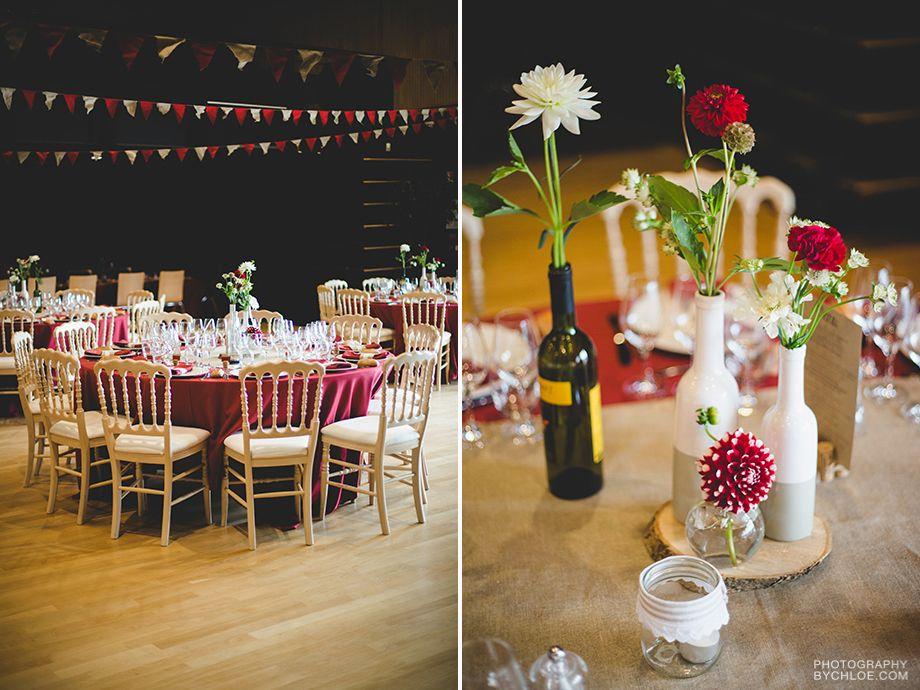 decoration mariage viticole