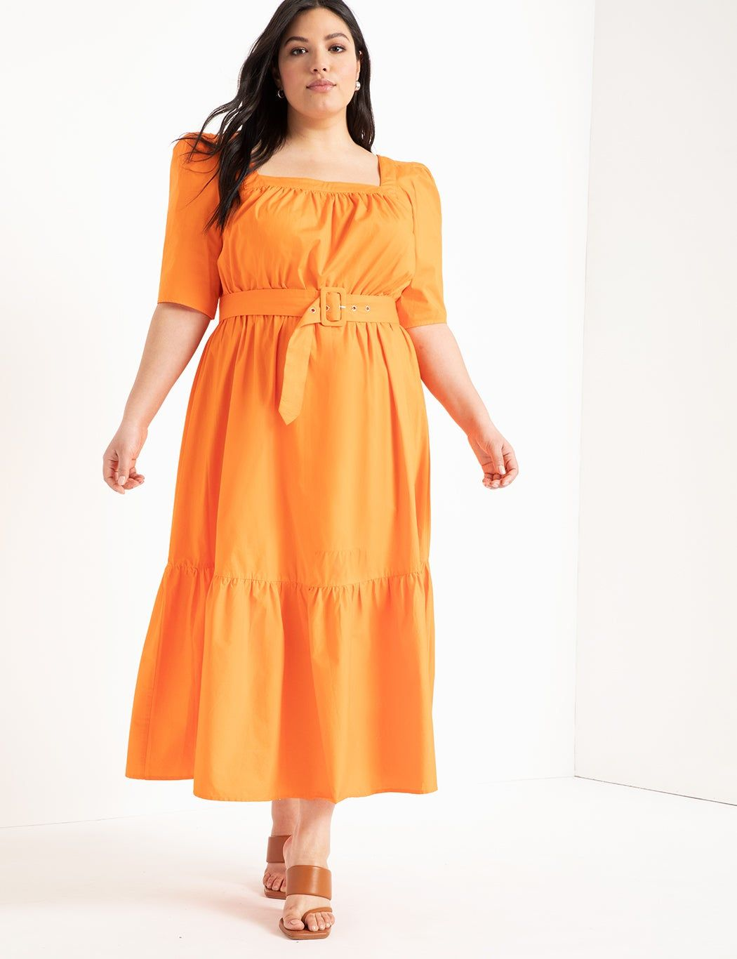 26 Dresses To Upgrade Your Spring Wedding Guest Attire Fit And Flare Dress Flare Dress Plus Size Dresses [ 1366 x 1050 Pixel ]