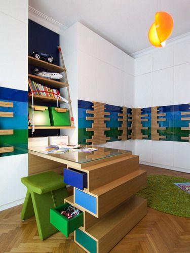 contemporary study furniture. saving space furniture contemporary study table modern kids room ideas e