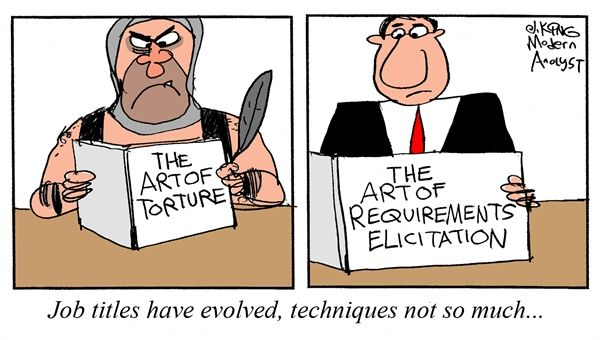 Humor Cartoon The Art Of Requirement Elicitation Tech Humor