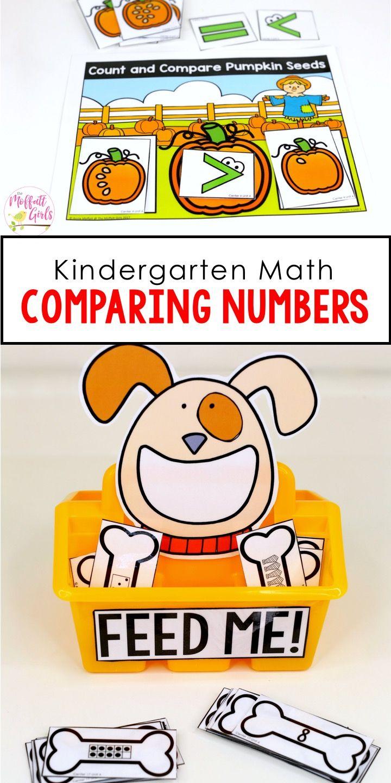 Kindergarten Math: Comparing Numbers | Fun math games, Fun math ...