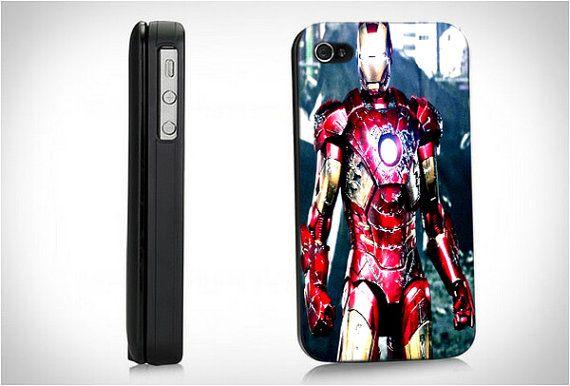 Super Hero Iron Man Avengers   Hard Case for iPhone by BeachPrint, $15.00
