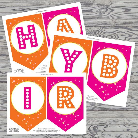 Happy Birthday Double Digits Printable By