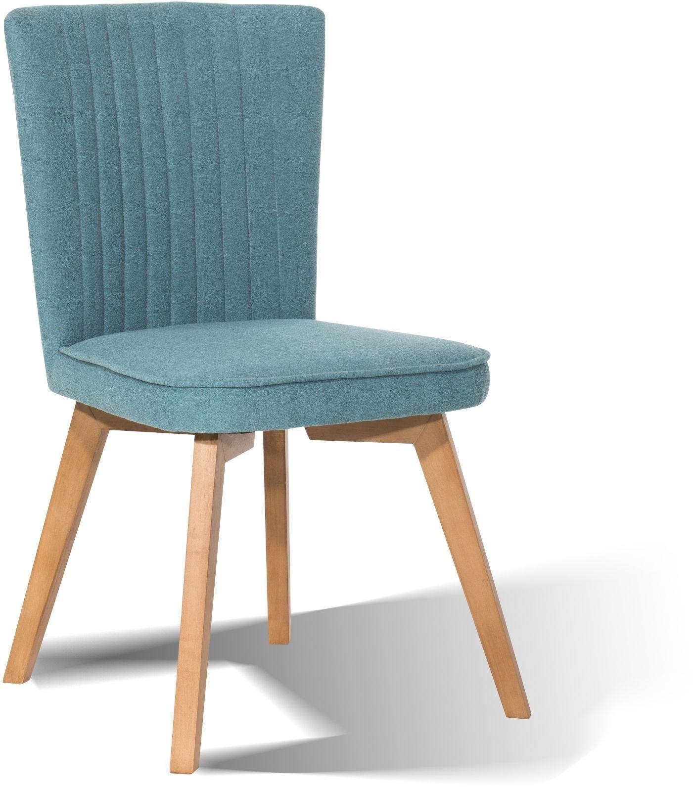 Stuhl Sit Chairs Petrol Beine Hevea Mittelbraun Optiwohnwelt  # Muebles Rattan Hevea